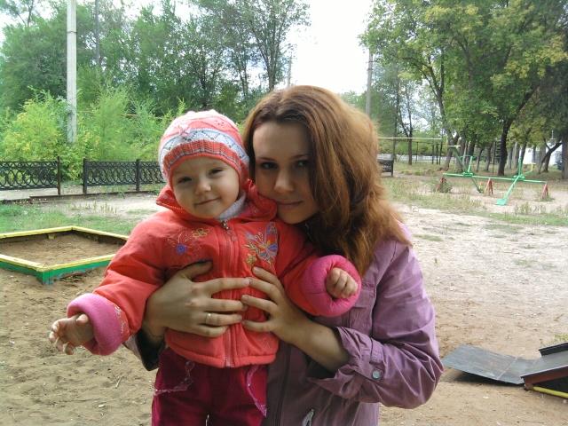 Мы вместе- это просто счастье!. Мадонна с младенцем