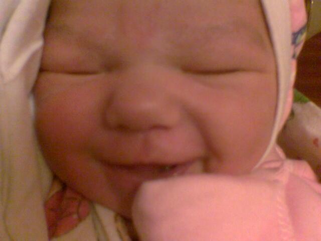 Самая первая улыбка!. Время улыбаться