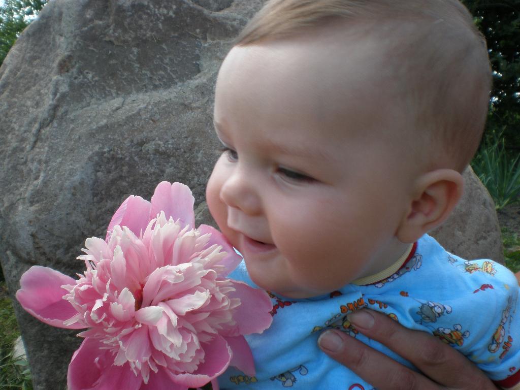 Подарю цветочек и улыбку.... Время улыбаться