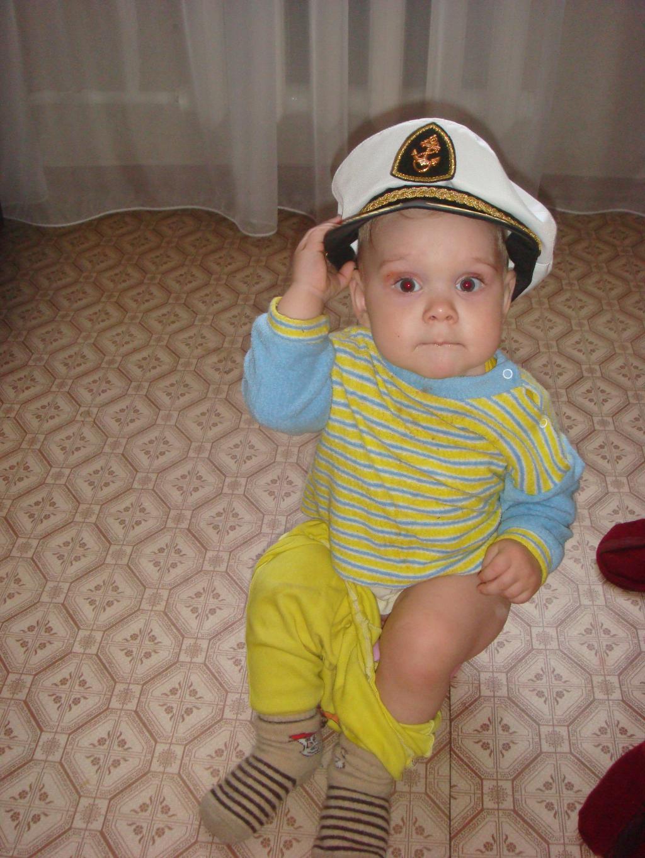 Я готов к морскому  плаванью. Белая панама