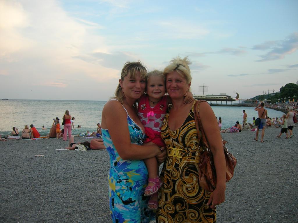 улыбка трех поколений.... Время улыбаться