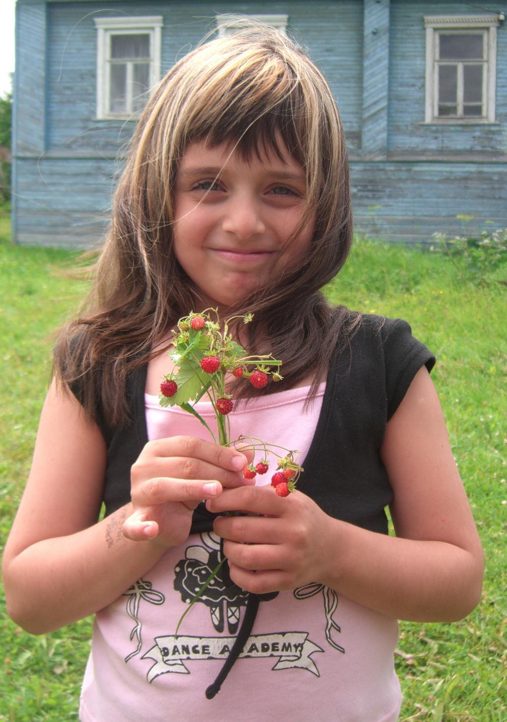 Девочка земляничка. Время улыбаться