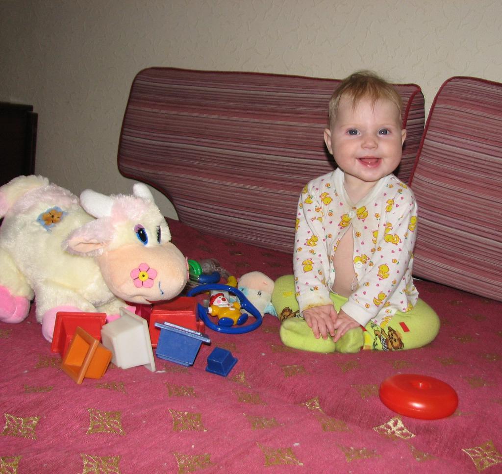 Настенька- Улыбушка, девчушка- веселушка.... Время улыбаться
