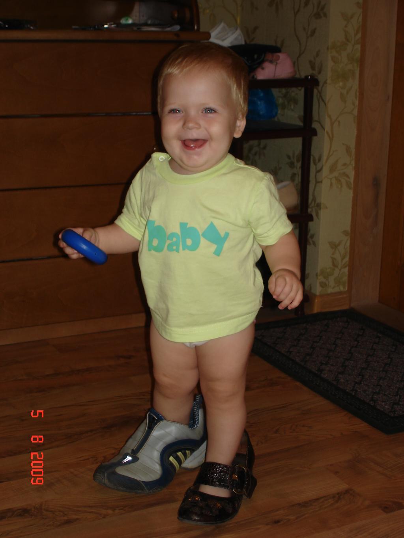 Мамина обувь лучше!!!. Время улыбаться