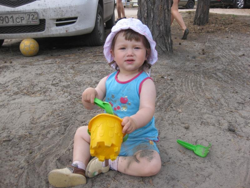 Люблю играть в песочке. Мои игрушки