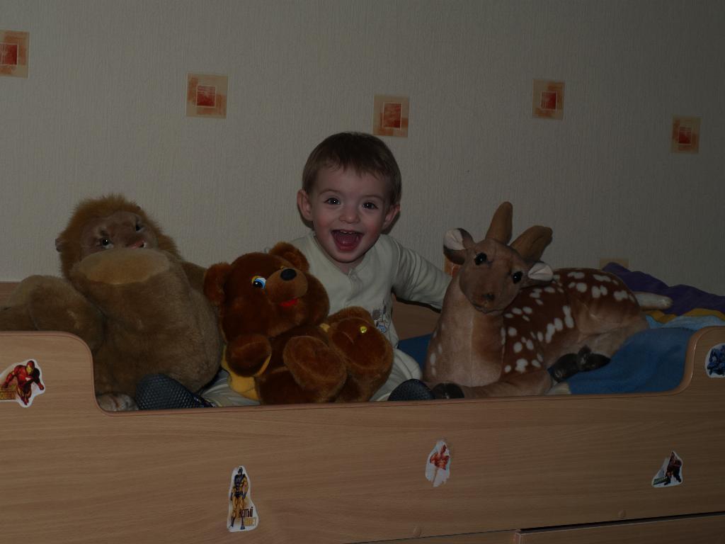 и все мои друзья со мной. Мои игрушки