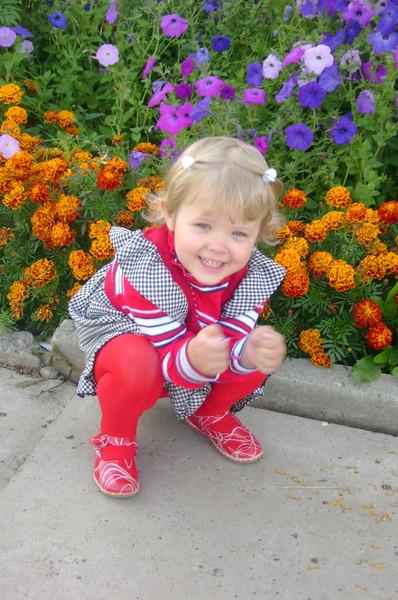 Зоя  и цветы. Время улыбаться