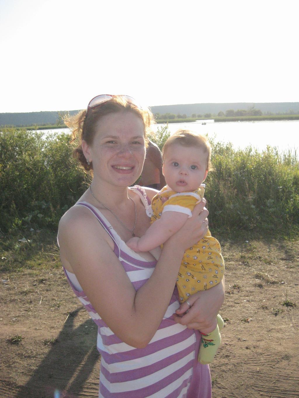 Моя дочурка!!. Мадонна с младенцем