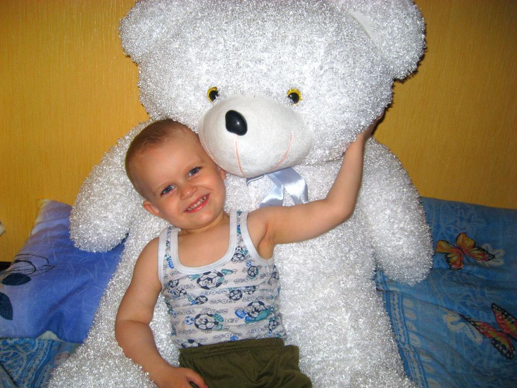 Я и мой медведь.. Мои игрушки