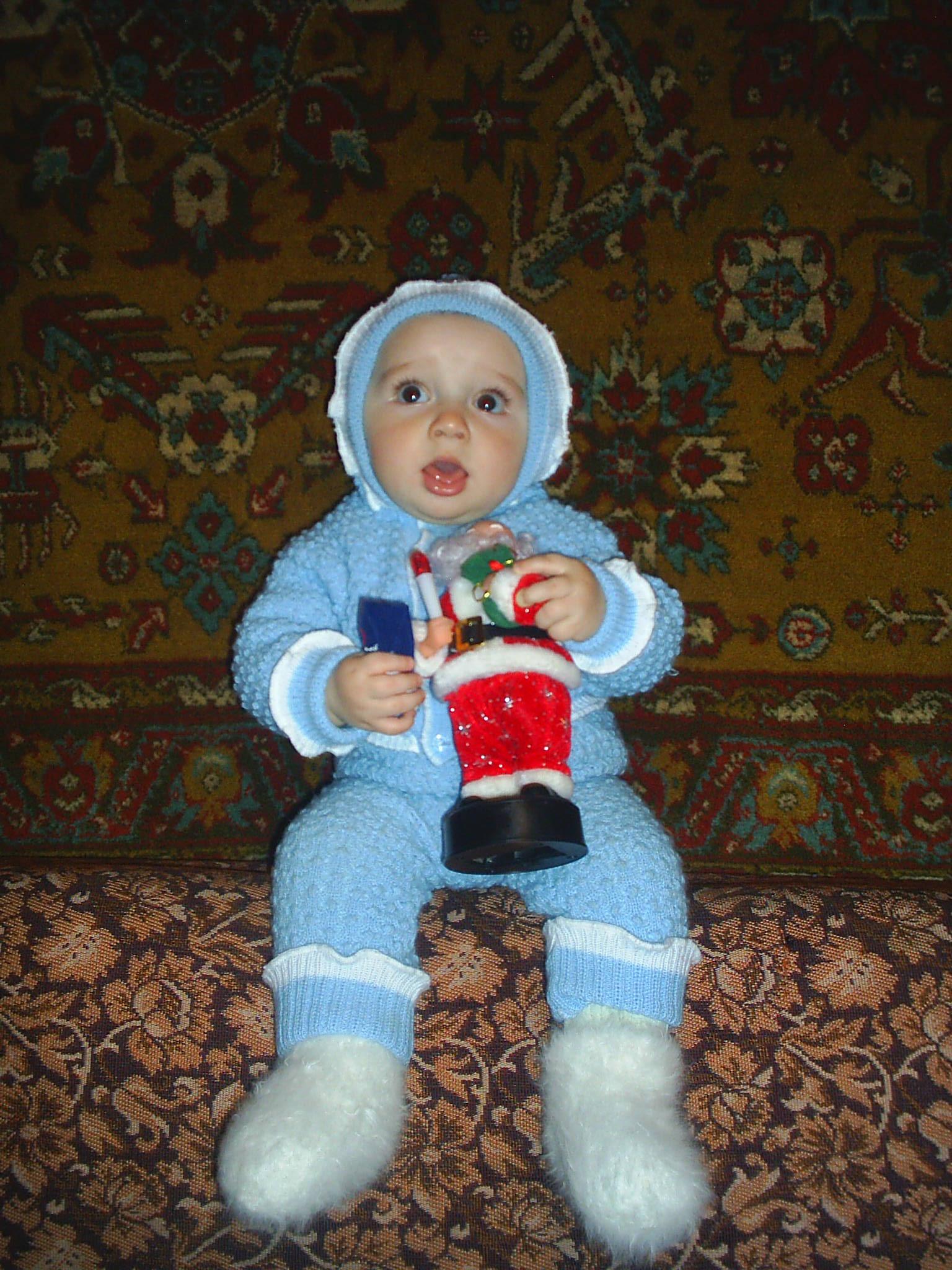 Мой любимый дед Мороз!. Мои игрушки