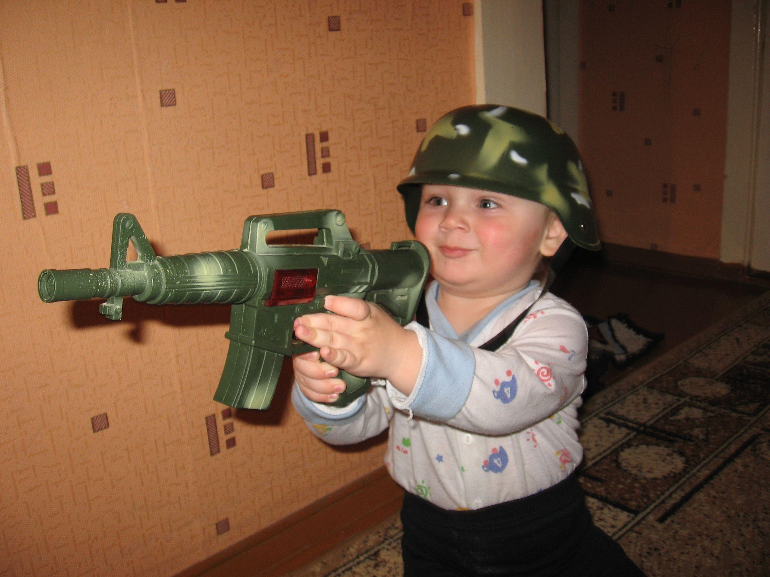 Я настоящий солдат!. Мои игрушки