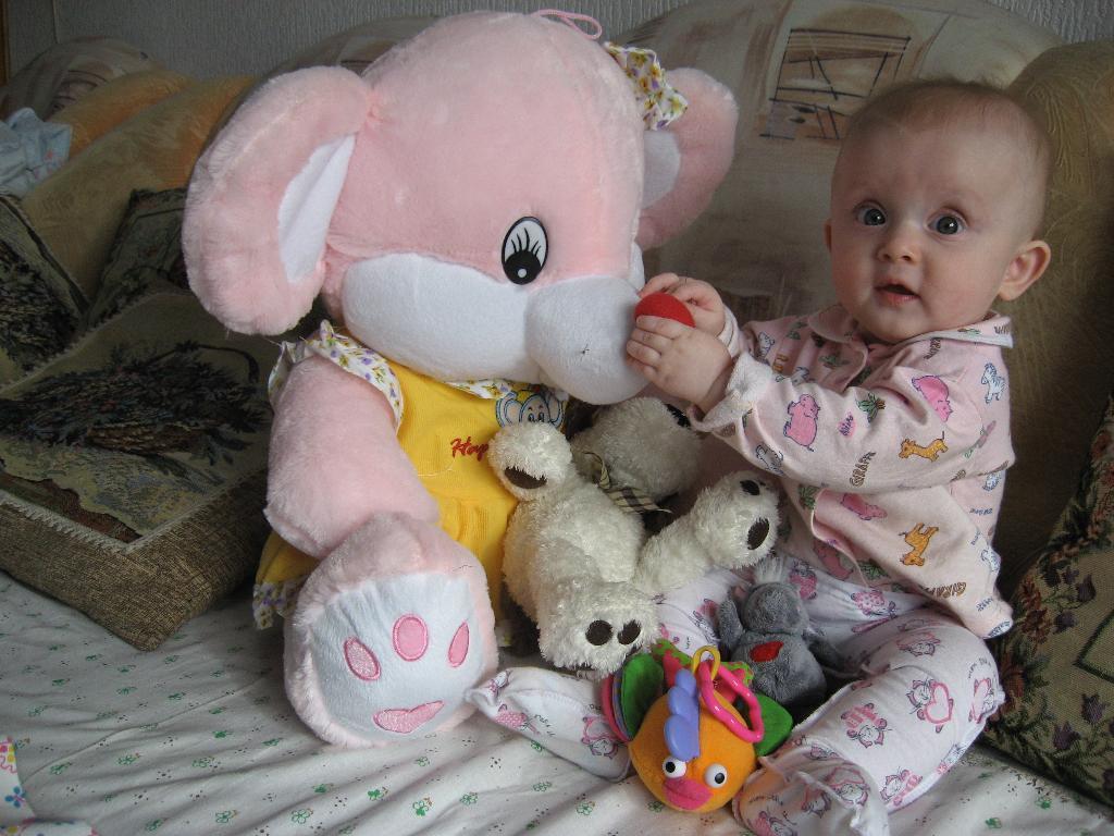 Люблю большие игрушки!. Мои игрушки