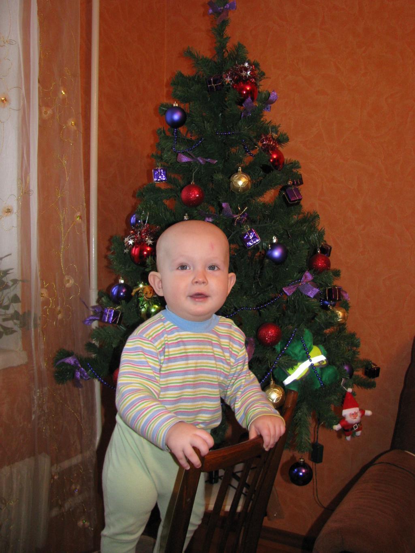 Даниэлькин первый Новый Год!.