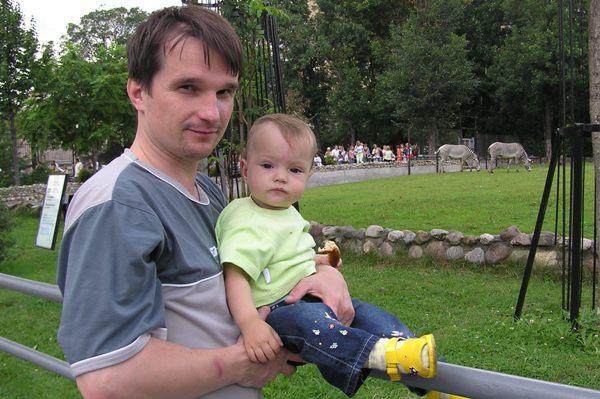 Первый раз в Московском зоопарке. В зоопарке