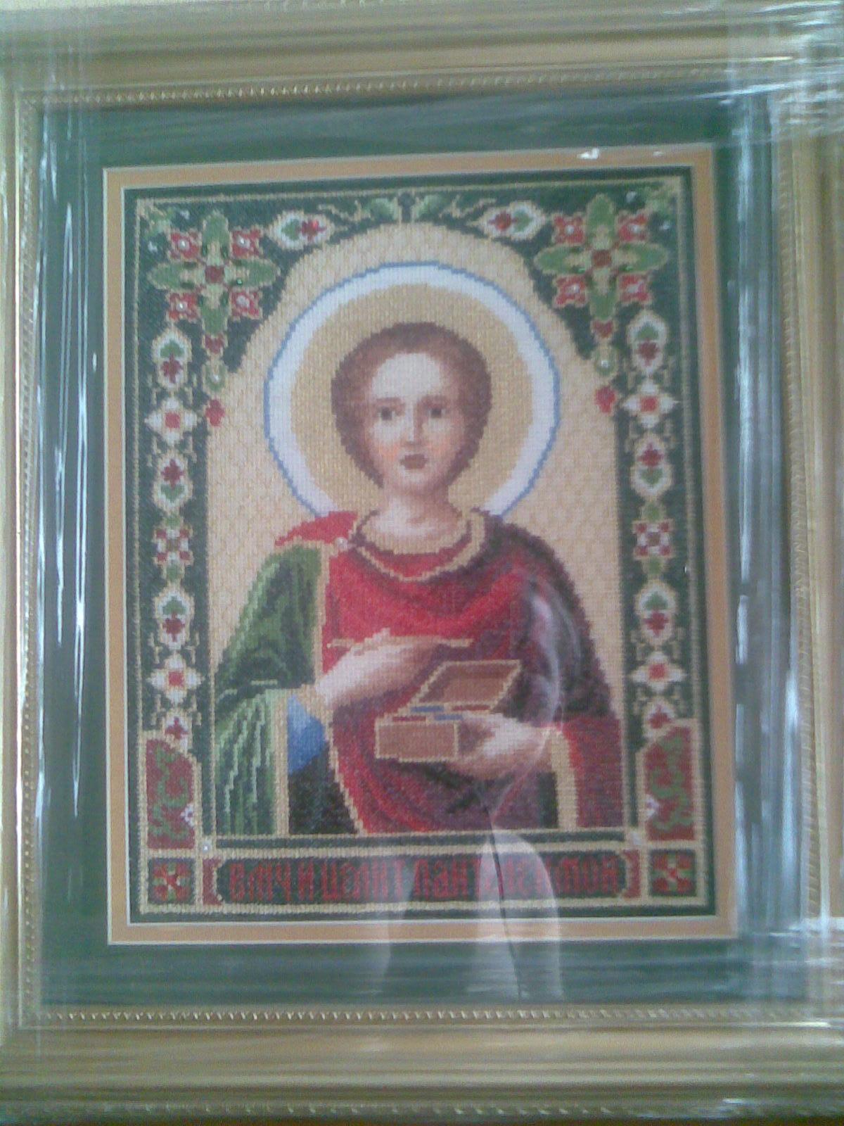 Св.Пантелеймон-Целитель (28х35). Иконы и библейские сюжеты