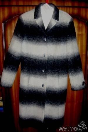 Пальто р 50 шерсть. Женская одежда