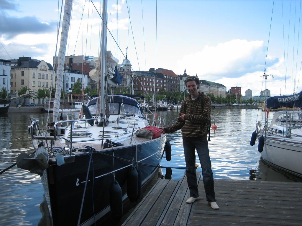 Старший сын,Артем. Хельсинки.. Городские пейзажи