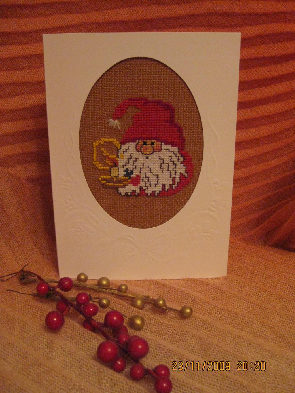Новогодняя открытка 2009.. Рождественские и новогодние мотивы