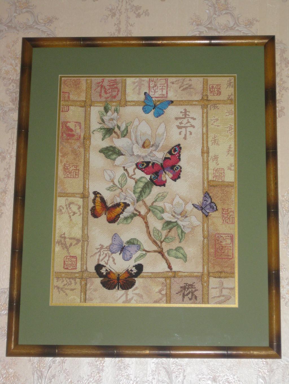 Dimensions 35063 'Торжество сверкающих бабочек'. Феи,  эльфы, бабочки и др. насекомые