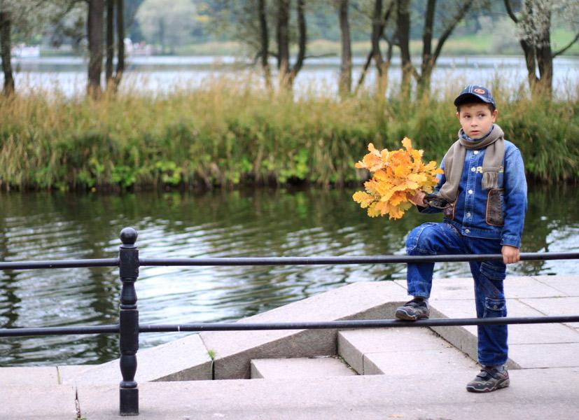 Осенний букет. Осенняя прогулка