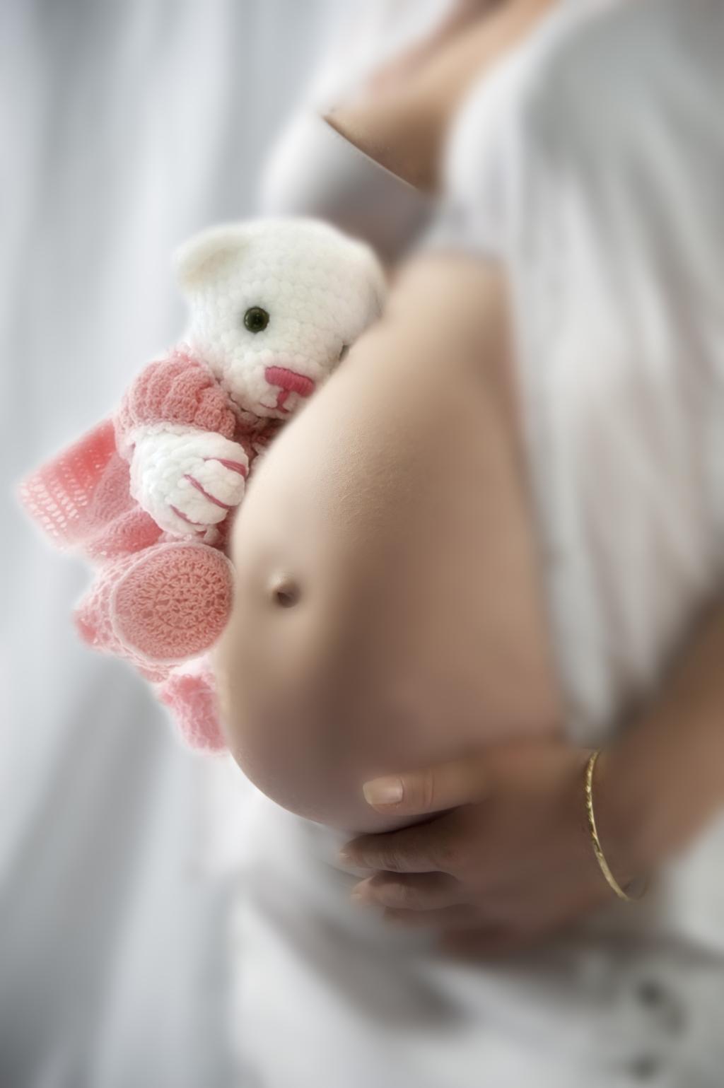 лялечка. Беременный живот