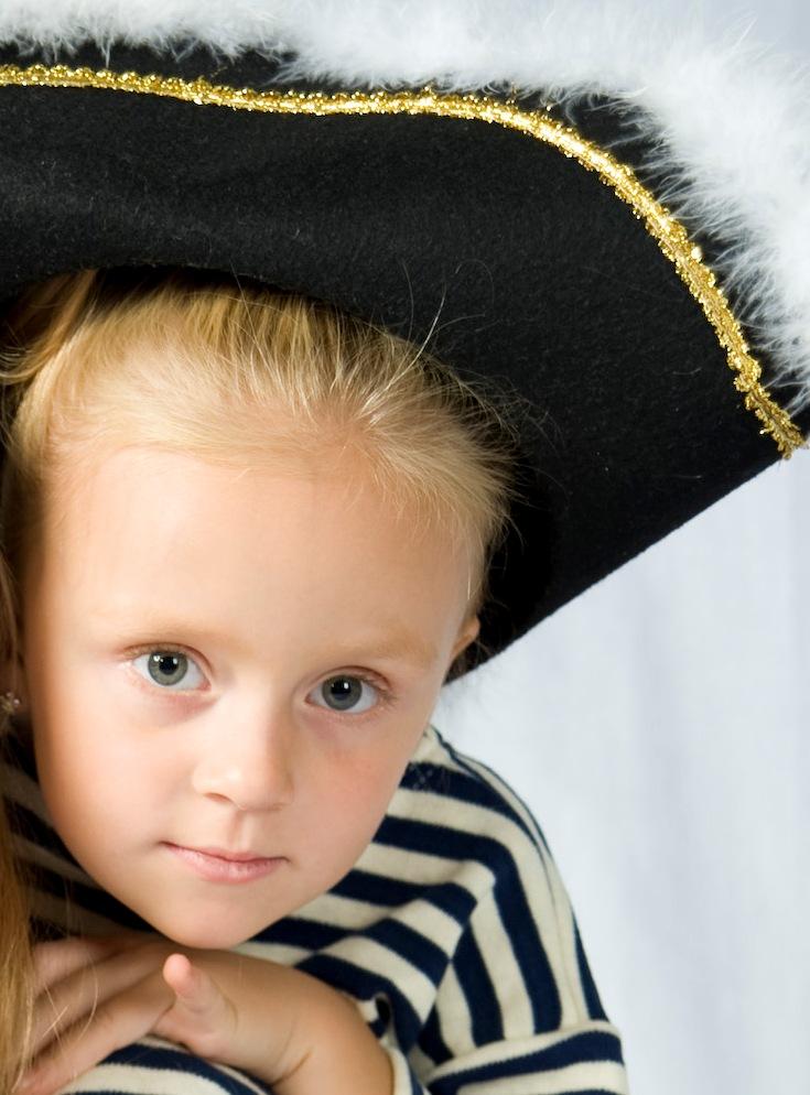 Пиратка. Детские портреты