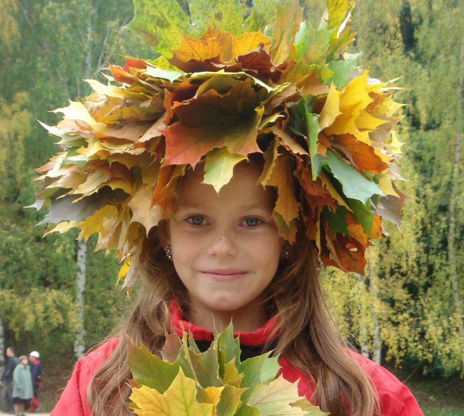 Мисс осень. Осенняя прогулка
