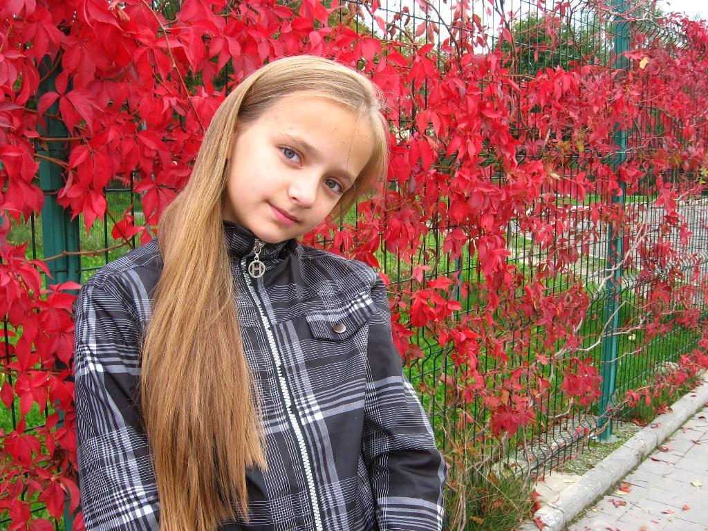 Класная красная осень. Осенняя прогулка
