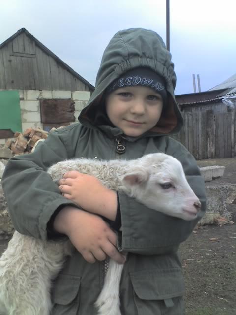 сынок мой-ласковый как мама))). Наши меньшие друзья