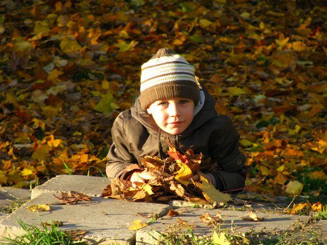 Эта желто-оранжевая пора.... Осенняя прогулка