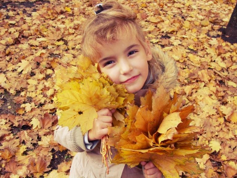 осення _. Осенняя прогулка