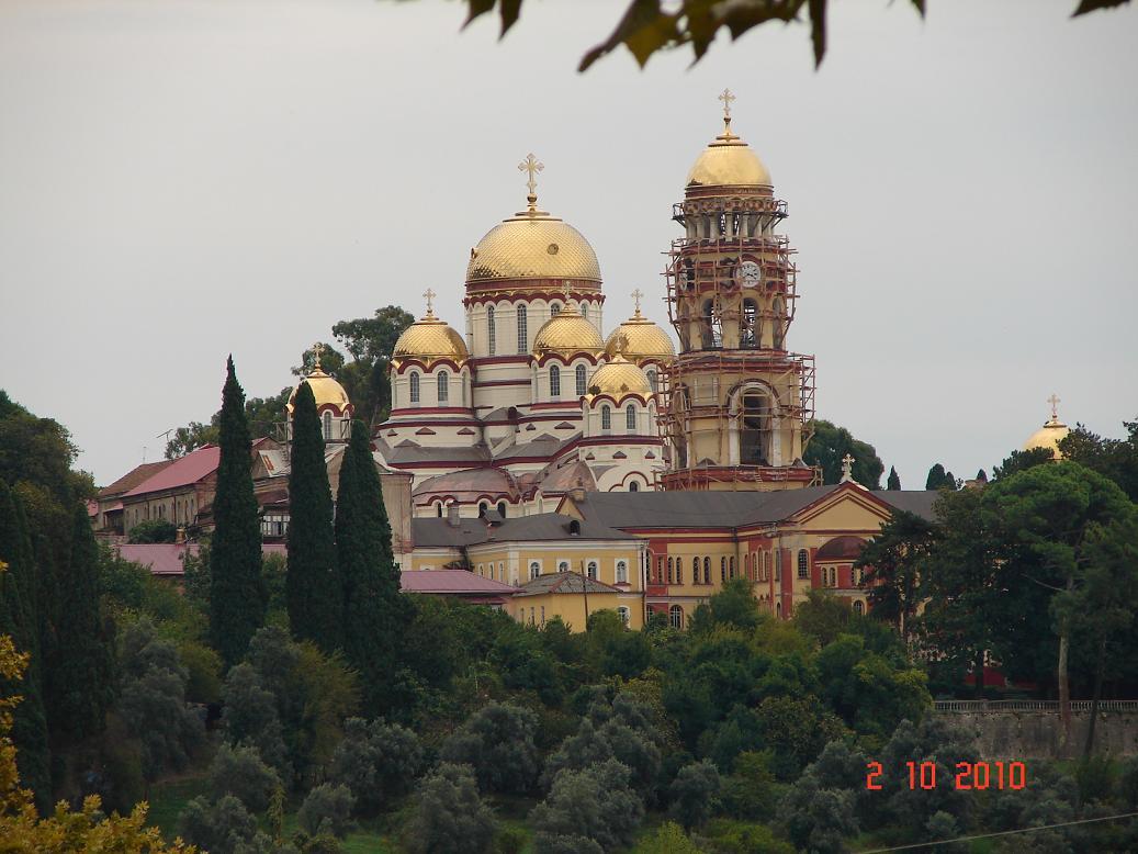 Новоафонский монастырь. Пицунда