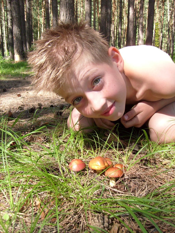 первые грибочки. Выходные на природе