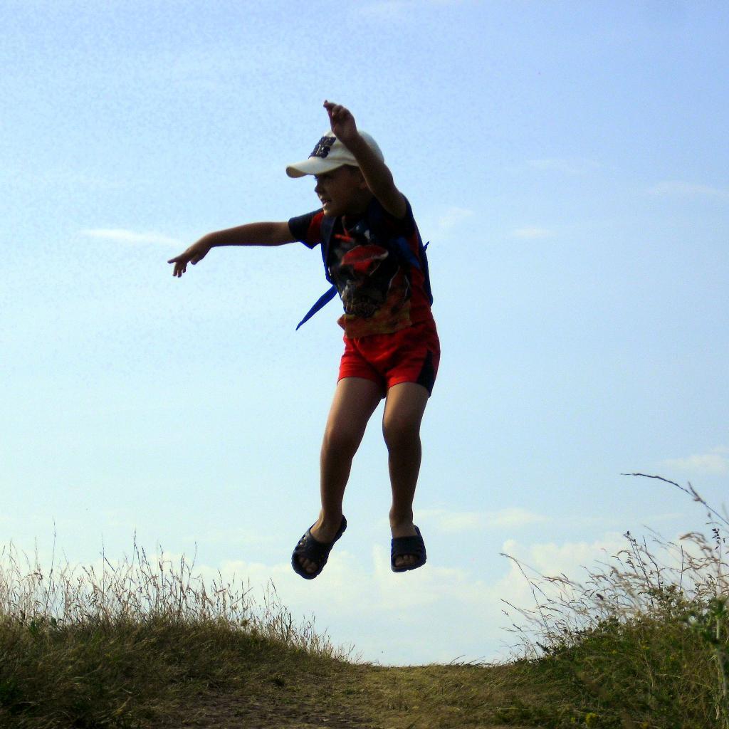 Прыжок. Закрытое голосование фотоконкурса 'Выходные на природе'
