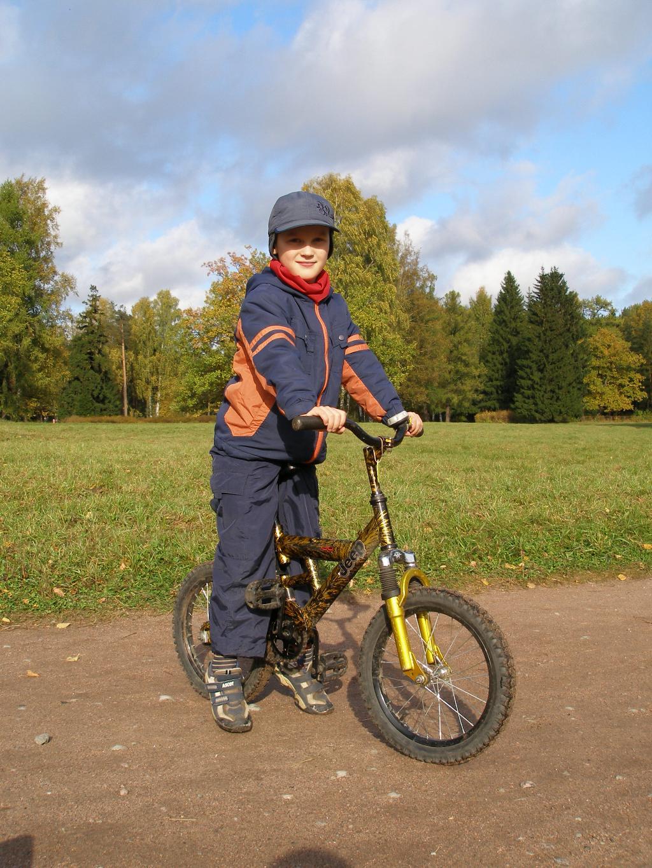 Я со своим железным конем!. Укрощение велосипеда