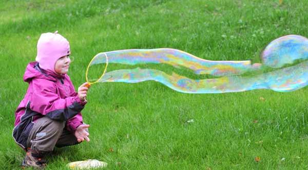 Я пускаю пузыри!. Выходные на природе
