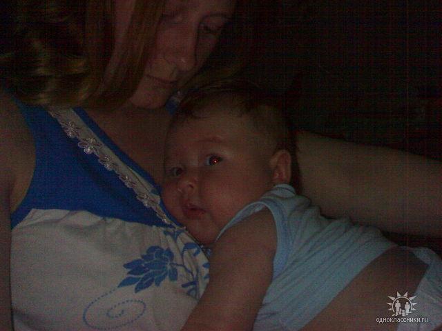 мама. Мадонна с младенцем