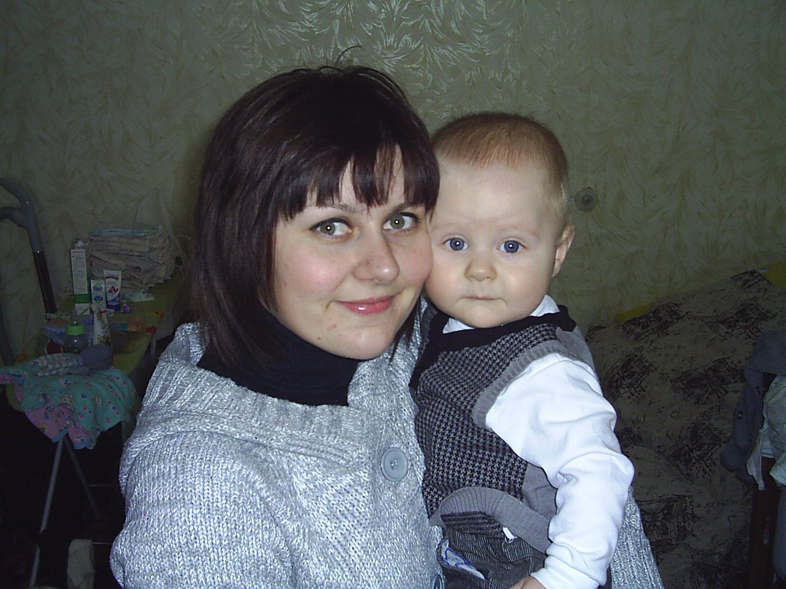 Сладкая парочка. Мадонна с младенцем