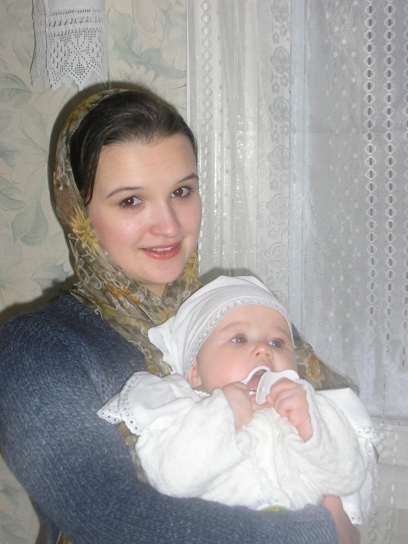 Крещение. Мадонна с младенцем