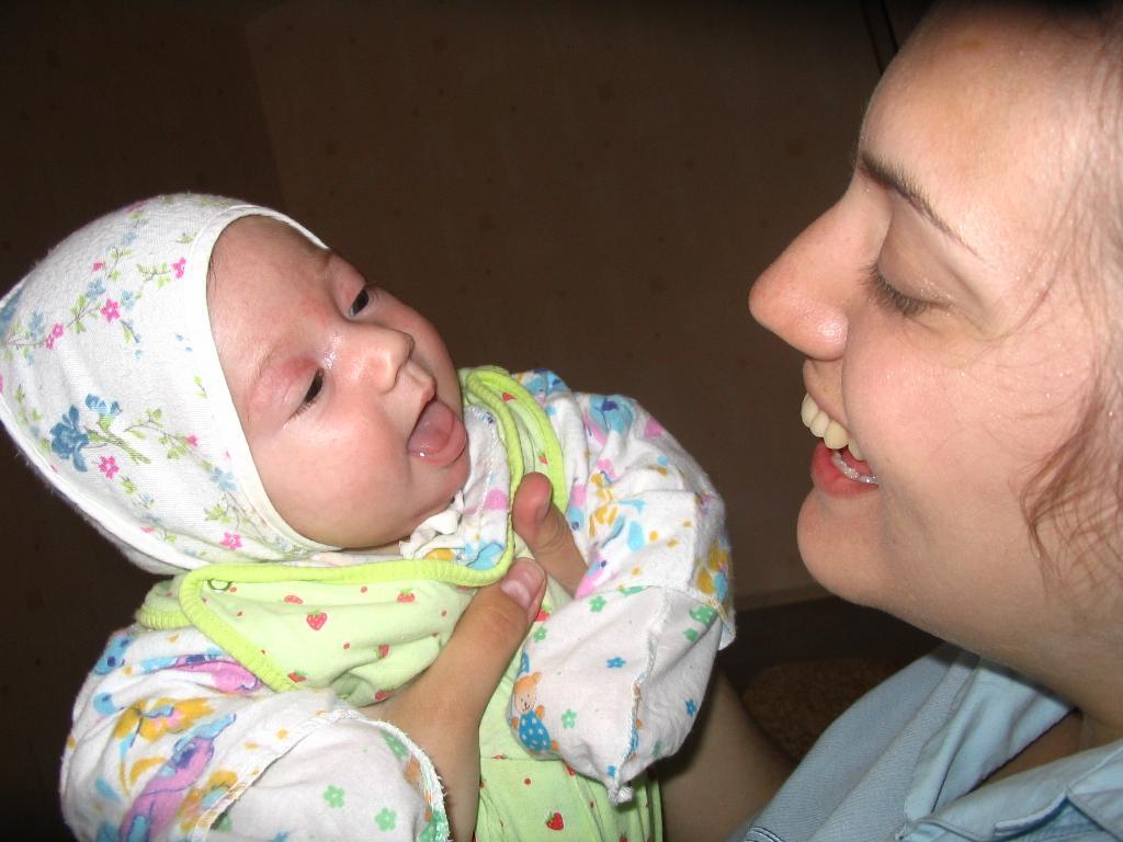 Моя крошка. Мадонна с младенцем