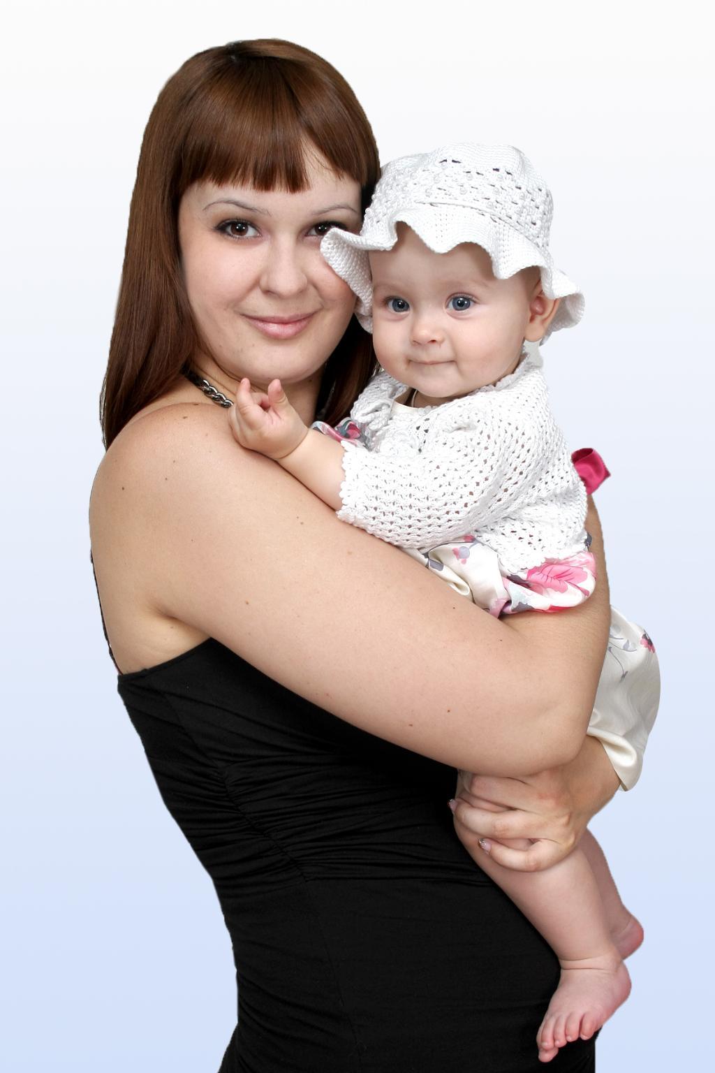 Мое счастье. Мадонна с младенцем