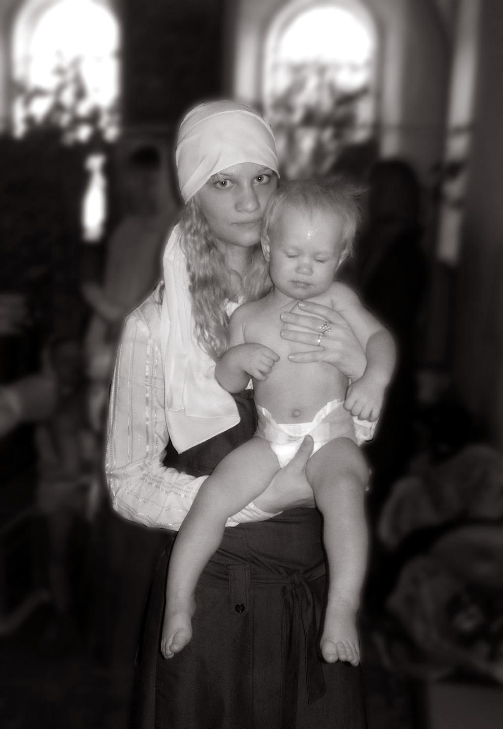 Мамин Ангел.... Мадонна с младенцем