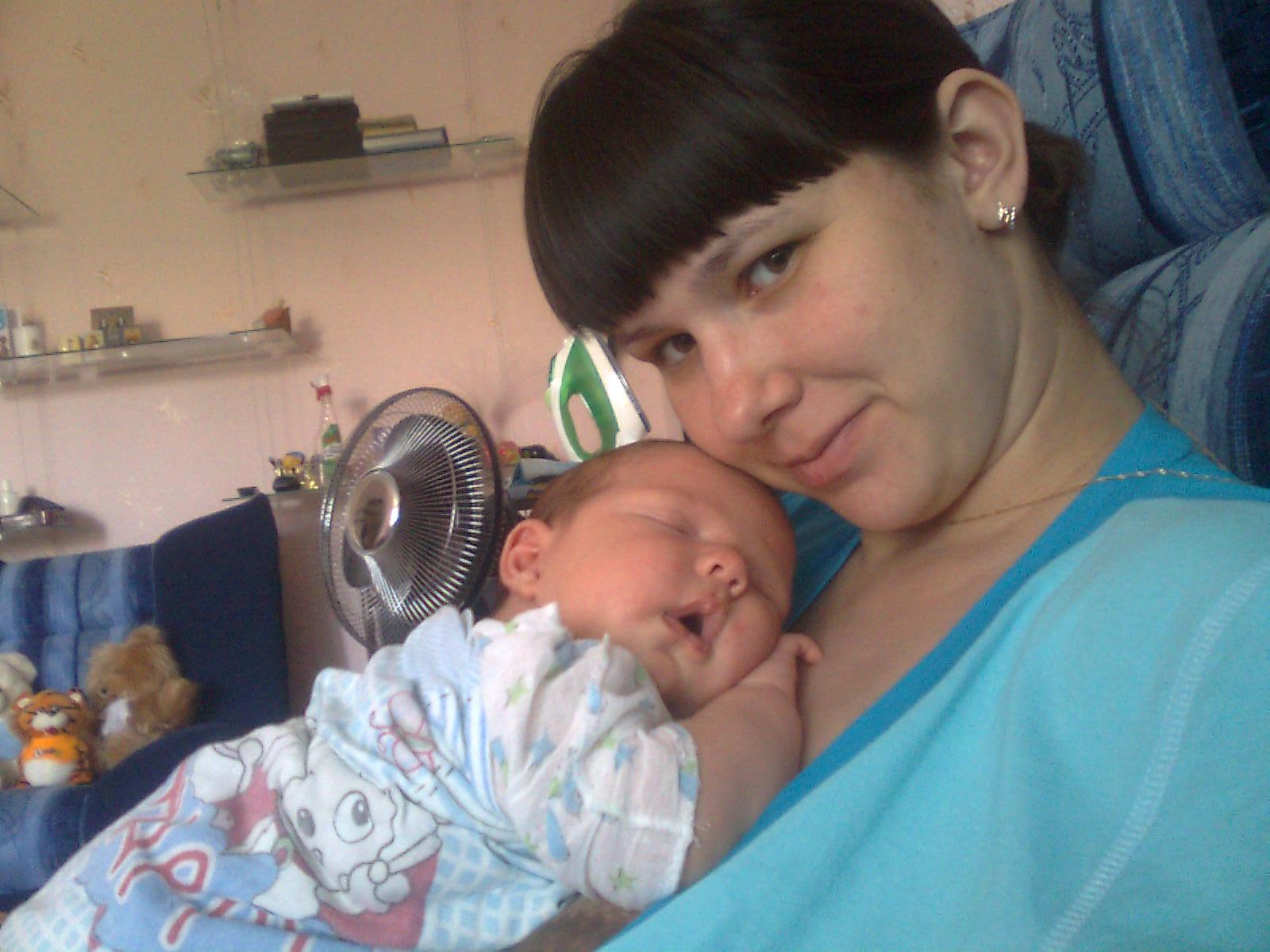 мое солнышко. Мадонна с младенцем