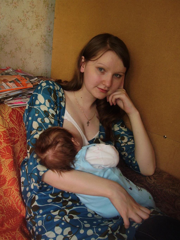 После крестин. Мадонна с младенцем