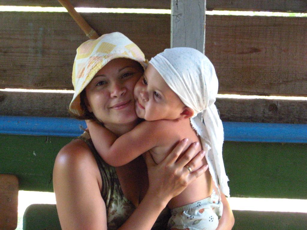 Любовь. Мадонна с младенцем