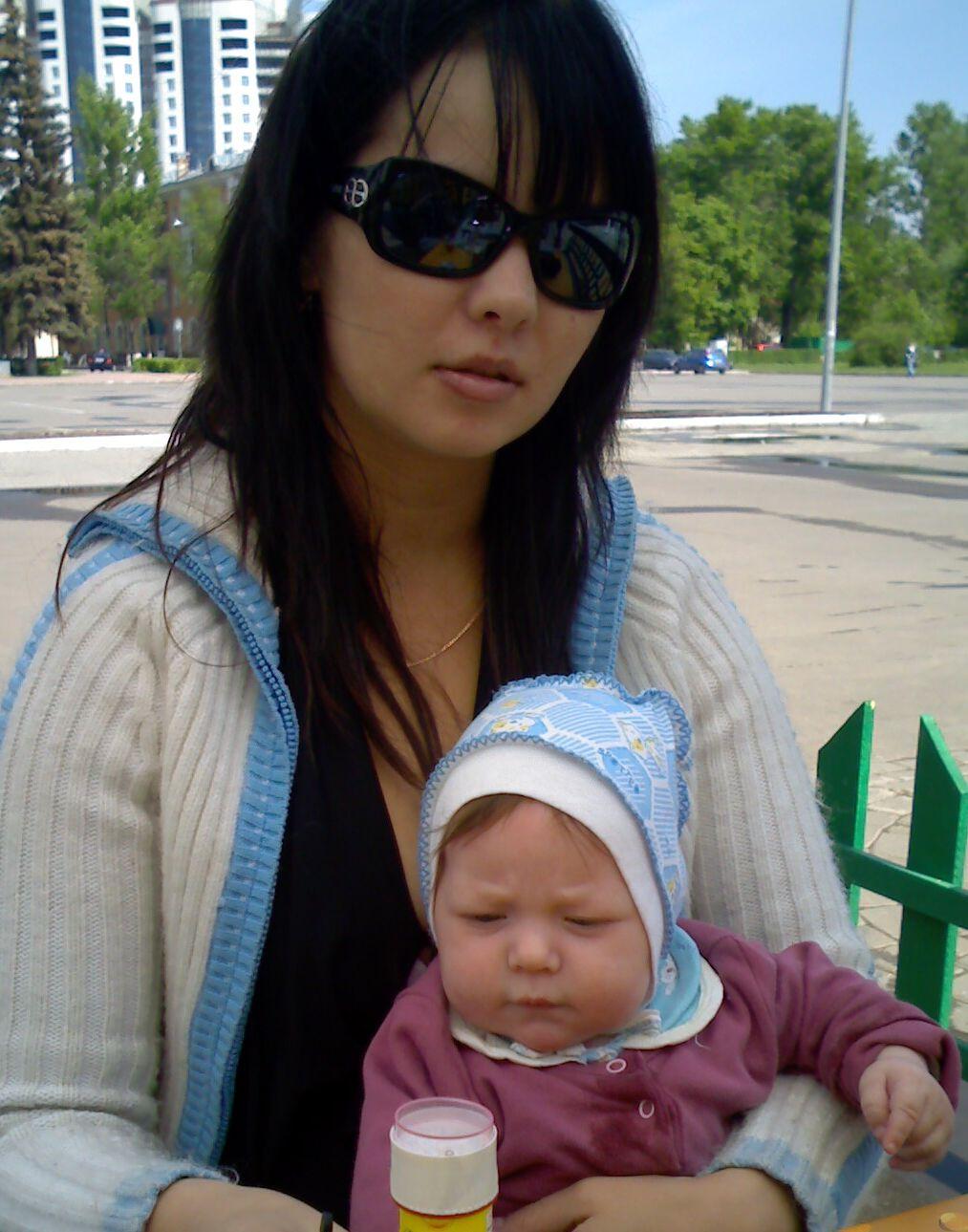С сыночком . Закрытое голосование фотоконкурса 'Мадонна с младенцем'