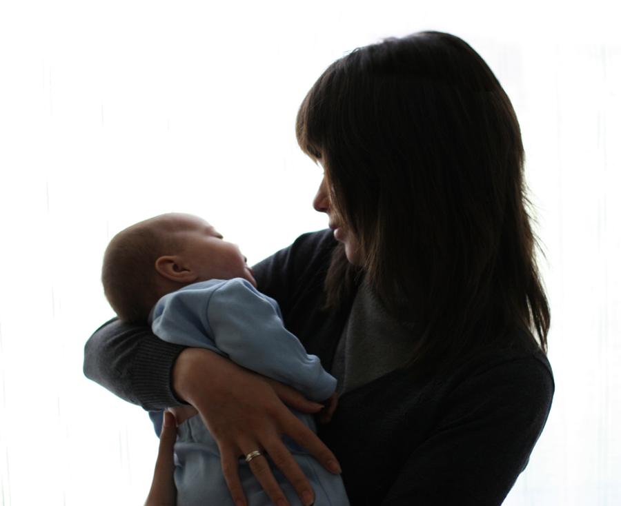 ты и я. Мадонна с младенцем