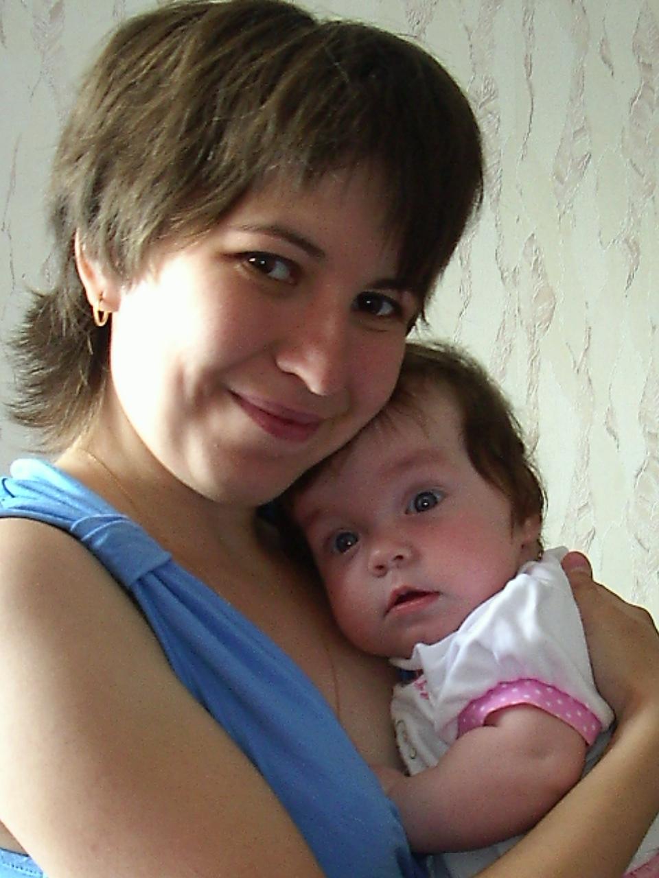 Мамино сокровище))))))). Мадонна с младенцем