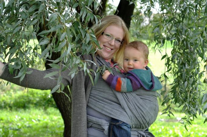 Счастье. Мадонна с младенцем