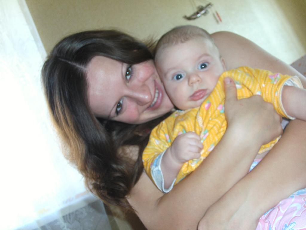 Мой маленький!!!. Мадонна с младенцем